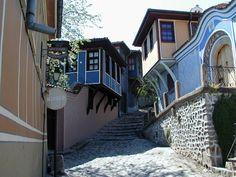 Old city of Plovdiv, Bulgaria  http://www.bghostels.com/bg/маршрути/пакети-в-българия.html