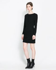 ZARA - WOMAN - SHORT DRAPED DRESS