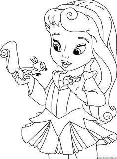 Disney Baby Princess Coloring Pages Coloring Pages Disney Cute Princess Coloring Page In 2020 Disney Princess Coloring Pages Princess Coloring Disney Princess Colors