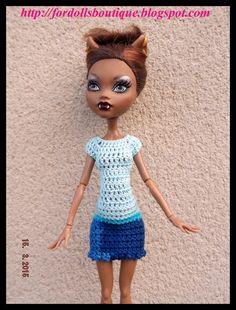 Vestido para Monster High  de mamimonster por DaWanda.com