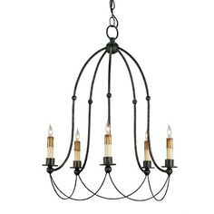 Currey and Company Derrymore Chandelier