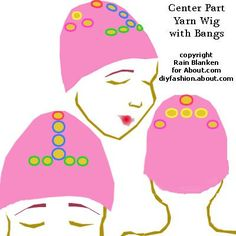 61 Ideas Crochet Doll Hair Tutorial Yarn Wig How To Make Cosplay Pokemon, Hostess Cupcakes, Crochet Amigurumi, Crochet Beanie, Crochet Wigs, Amigurumi Doll, Crochet Crafts, Doll Wigs, Doll Hair