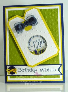 Chalk Talk and Four You Birthday Card