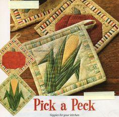 Pick A Peck Quilt Pattern Pieced/Paper Pieced CV