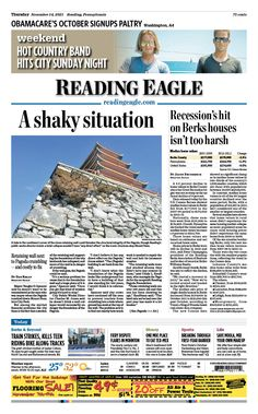 Today's front page, Nov. 14, 2013.