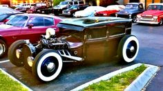 Cadillac rat rod