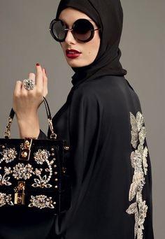 Dolce&Gabbana Abaya Collection Spring 2017