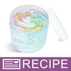 Mermaid Magic Whipped Soap Recipe