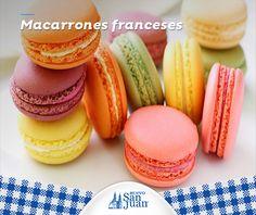 Macarrones franceses #Recetarioenlínea #HuevoSanJuan