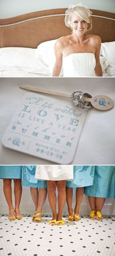 Like the typography for wedding invites/programs/save the dates! Carolina Blue!