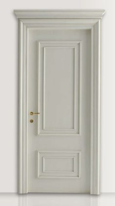 PIETRALTA White lacquered door : White lacquered door CF San Pietroburgo with Monterinaldi moulding. - Browse a wide selection of Classic Wood Interior Doors on New Design Porte Italian Interior Design, Door Design Interior, Classic Interior, Interior Barn Doors, Luxury Interior, Home Interior, Home Design, Solid Core Interior Doors, French Interior