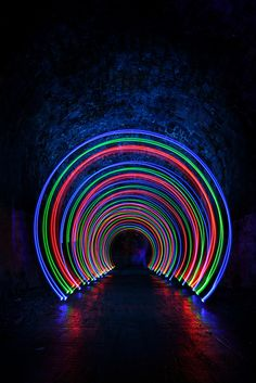 Light Painting Image - photo by Mark George, via Flickr