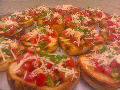 A Gastronomia Italiana: Bruschetta de Tomate