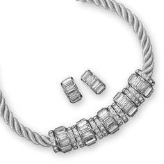 Twisted Cord Fashion Jewelry Set