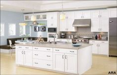 American Woodmark kitchen cabinets has easy design concept but full of functionality. American Woodmark kitchen cabinets has had the name in designing good quality kitchen furniture. Green Kitchen Walls, Accent Wall In Kitchen, Paint For Kitchen Walls, Hardwood Floors In Kitchen, Green Kitchen Cabinets, Kitchen Cabinet Colors, Painting Kitchen Cabinets, Kitchen Colors, White Cabinets