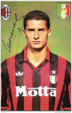 Daniele MASSARO; 1979–81 Monza ITA, 1981–86Fiorentina ITA, 1986–95AC MILAN, 1988–1989loan Roma ITA, 1995–96 Shimizu S-Puls JPN