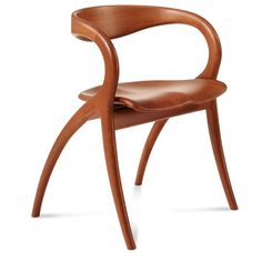 Domitalia Star Chair in Walnut