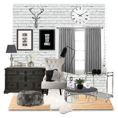 """Apartment Inspo"" by paulonsantos ❤ liked on Polyvore featuring interior, interiors, interior design, home, home decor, interior decorating, Gubi, Suki Cheema, Universal Lighting and Decor and UGG Australia"