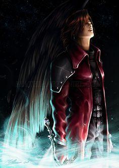 Genesis Rhapsodos by *MathiaArkoniel - Final Fantasy VII