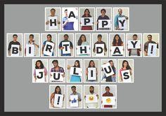 Celebrating our COO Julius's birthday!!