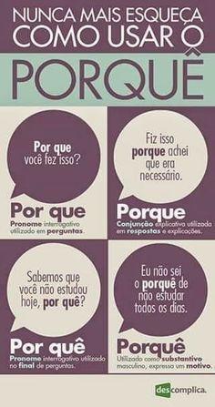 Mais um assunto já discutido nas dicas de português do Periscope. #studyportuguese