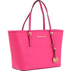MICHAEL Michael Kors - Jet Set Travel Small Tote - Saffiano  It's my color right now *sigh