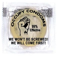 Believe it or not, condoms may not be the ideal medium for personal expression.