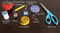 & (Required If Not Earned Before) — Learn the tools of the sewing trade. … & (Required If Not Earned Before) — Learn the tools of the sewing trade. Thread a needle, tie a knot, sew a button. Sewing Class, Love Sewing, Sewing Tools, Sewing Basics, Sewing For Beginners, Sewing Hacks, Sewing Tutorials, Sewing Projects, Sewing Patterns
