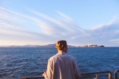 Crown braids and a view of the San Francisco bay
