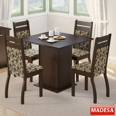 Um #conjunto de mesa de #qualidade faz a diferença na #decoração da sua #saladejantar! #Prod158905
