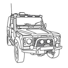 toyota coloring pages