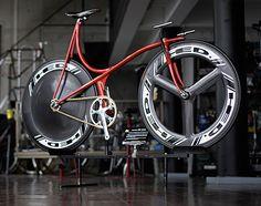 Track Bike by Shinichi Konno. Proprietor of CHERUBIM, a custom bike shop on the outskirt Tokyo.