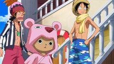 Luffy, Usopp and Chopper