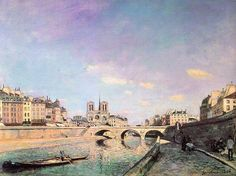 Johan Jongkind. Paris. 1864