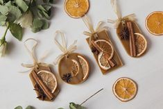 Nature Crafts Scented Soy Wax Tablet Natural Air Freshener with Dried Scented Sachets, Scented Wax, Handmade Christmas Decorations, Handmade Ornaments, Thanksgiving Decorations, Yule Decorations, Simple Christmas, Christmas Crafts, Natural Christmas Ornaments