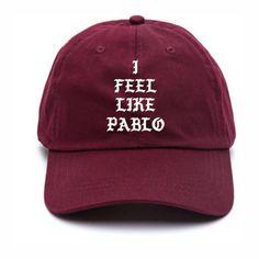 4fcdec6b972 hat pablo cap i feel like pablo pablo kanye west cap cape baseball cap mens  cap