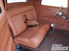 Car Interior Upholstery, Automotive Upholstery, Custom Car Interior, Truck Interior, Kombi Pick Up, 57 Chevy Trucks, 32 Ford Roadster, Custom Car Seats, Car Seat Cover Sets