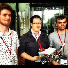 Swinburne has won the 2012 National Instruments Autonomous Robotics Competition! Congratulations Team Suave - Faculty of Engineering and Industrial Sciences students Jason Wu, Jeremy Austin and Ben Smith - awesome work!