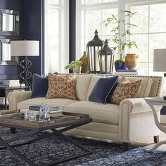 Harlan Sofa | Living Room Furniture | Bassett Furniture