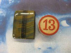 Semi Precious Stone Tigers Eye Polished by dimestoreemporium, $5.00