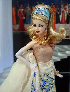 Miss Miami Barbie Doll 2010