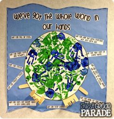 The First Grade Parade: Let's Get Ready for Earth Day!