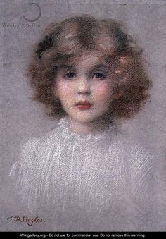 Portrait of a Young Girl - Edward Robert Hughes