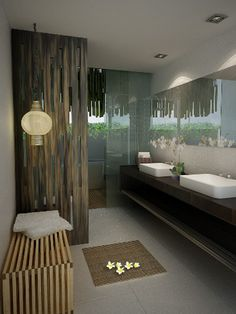 Villas Bathroom | The Akmani Legian | Legian - Bali, Indonesia