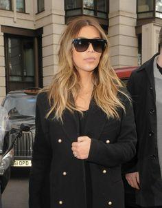 2013 : Kim Kardashian de nouveau blonde !