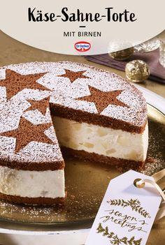 Cake Recipes, Snack Recipes, Dessert Recipes, Snacks, Winter Torte, Angel Food Cupcakes, Mary Recipe, New Cake, Food Decoration