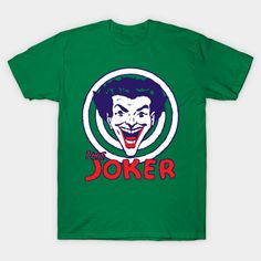 DC Comics Joker Smile M T T-Shirt Uomo