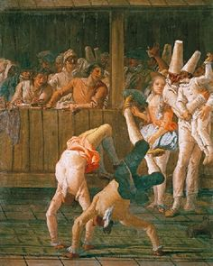 Tiépolo: Los acróbatas (1797)