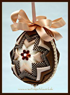 Veľkonočné patchworkové vajíčko