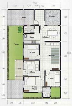 Three bedroom bungalow house plan shd 2017032 pinoy eplans house design container house plans house layouts movie trailers bricks future house brick malvernweather Choice Image